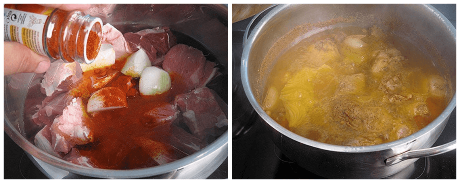 how to soak vegetables and meat