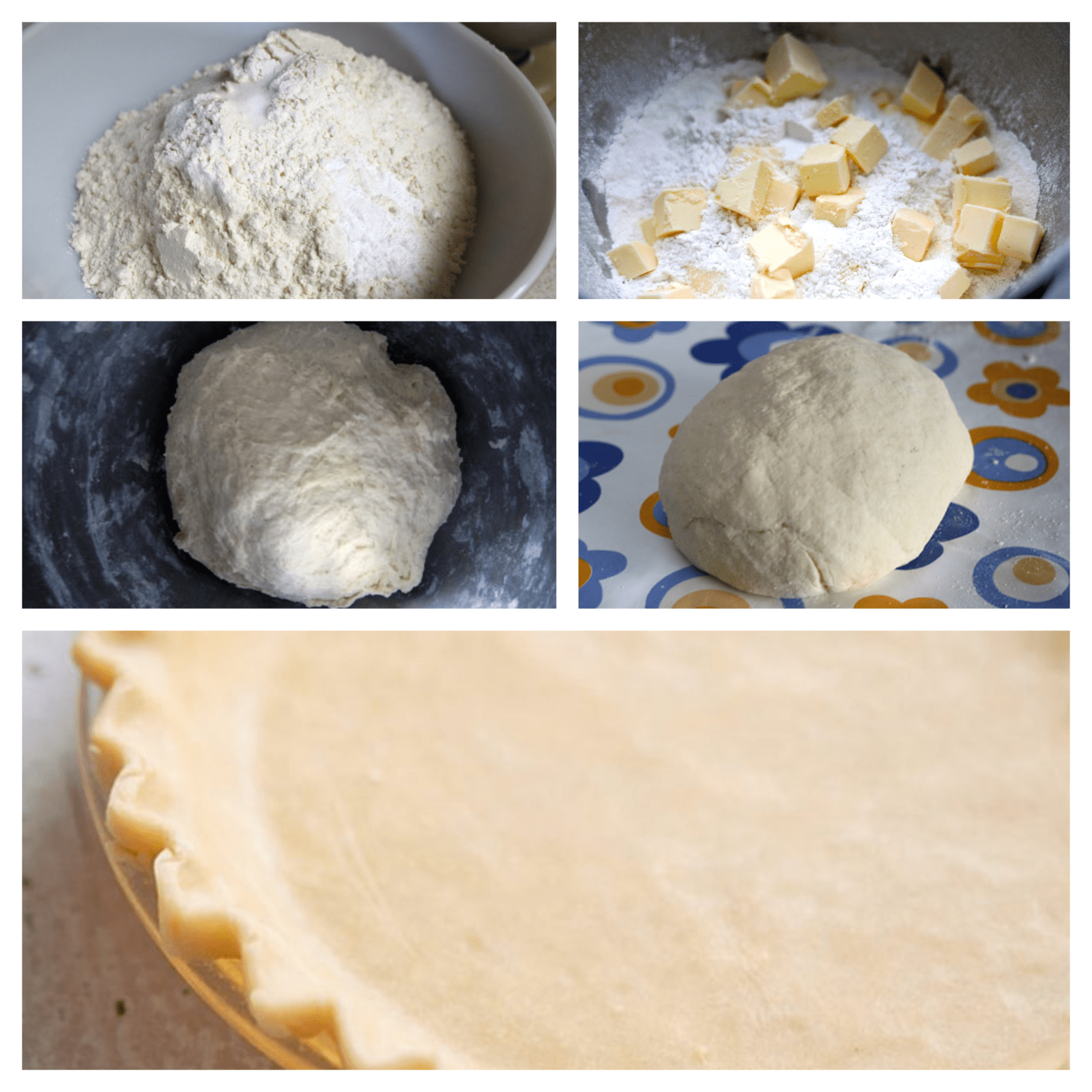 simple steps to create dough