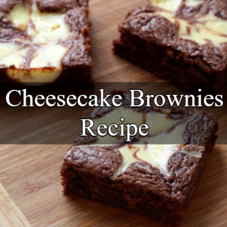 Cheesecake Brownies Homemade