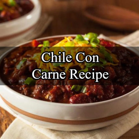 Chile Con Carne Step By Step