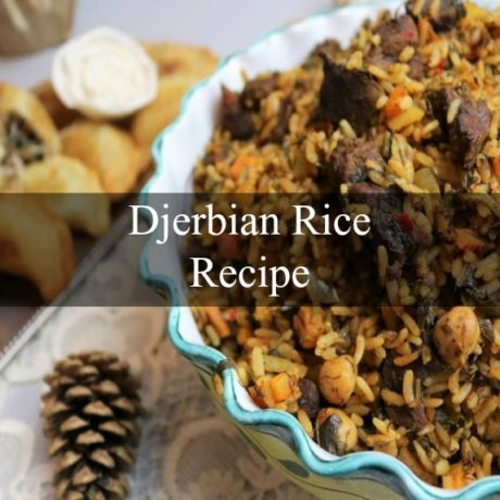 Djerbian Rice or Rouz Jerbi