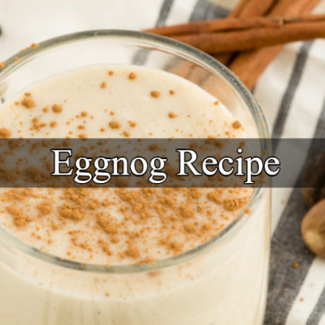 Eggnog Homemade (non-alcoholic)