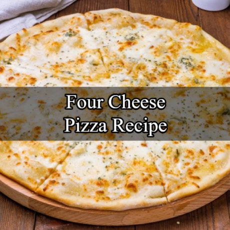 Four Cheese Pizza Homemade