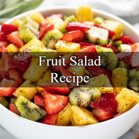 Fruit Salad Fresh and Healthy