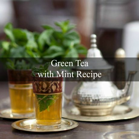 Green Tea with Mint Moroccan Style