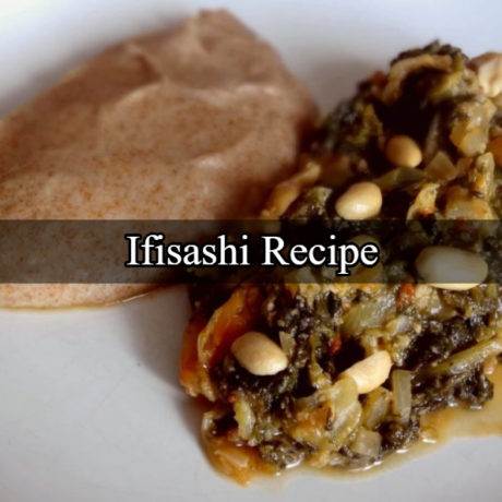 Ifisashi With Spinach And Peanuts