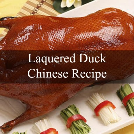 Laquered Duck Chinese Style