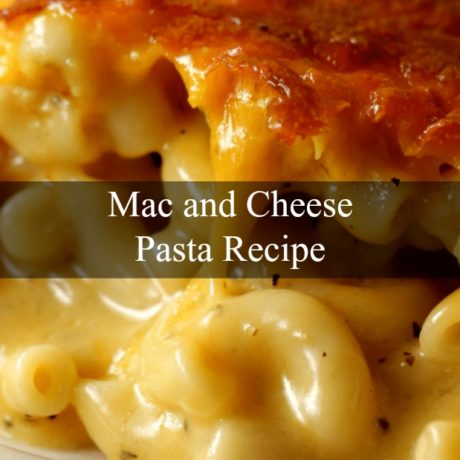Mac and Cheese Pasta in Russian