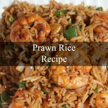 Prawn Rice Rich and Easy