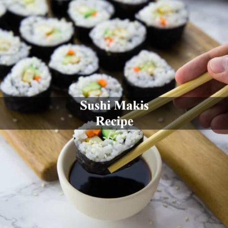 Sushi Makis Easy and Simple Steps
