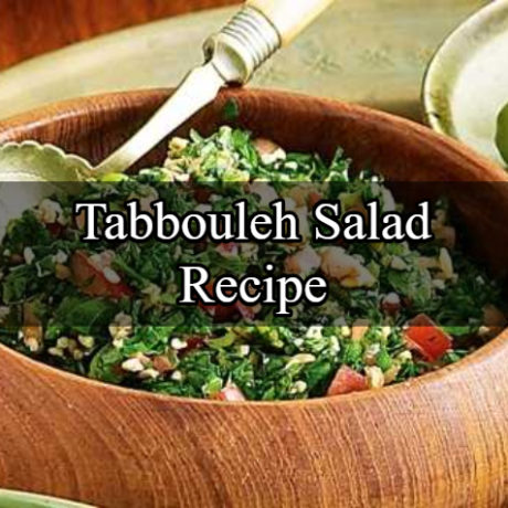 Lebanese Tabbouleh Salad Step by Step
