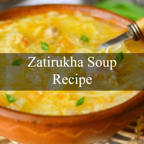 Zatirukha Soup with Chicken