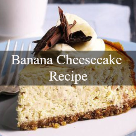 Banana Cheesecake Homemade
