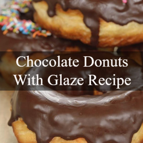 Chocolate Donuts With Glaze