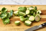 how to prep brussels sprouts