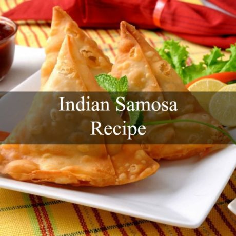 Perfect Recipe of Indian Samosa Meat and Vegetables