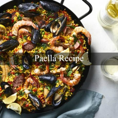 Paella Traditional Spanish Style