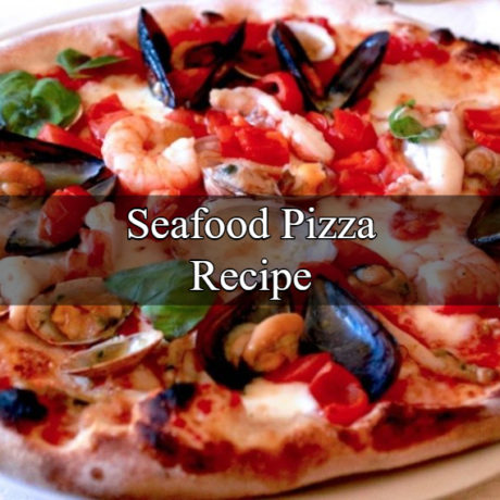The Seafood Pizza Homemade