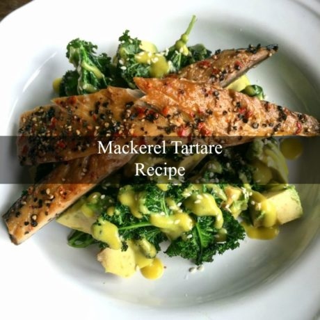 Mackerel tartare Homemade Style