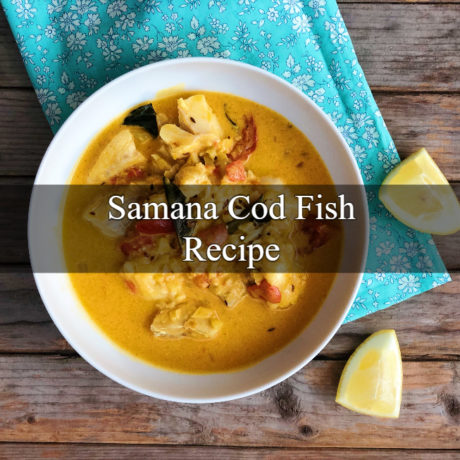 Samana Cod Fish with Coconut Milk