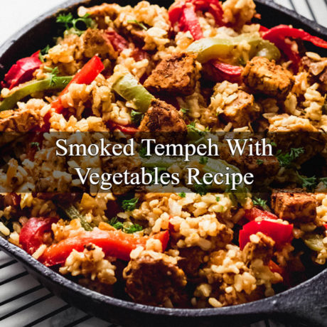 Fried Tempeh With Vegetables
