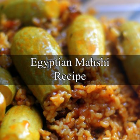 Mahshi Egyptian Homemade Recipe