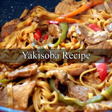 Yakisoba Japanese Stir-Fried Noodles