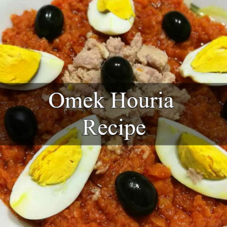 Omek Houria Tunisian Spicy Carrot Salad