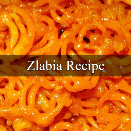 Zlabia Traditional Homemade Easy Steps