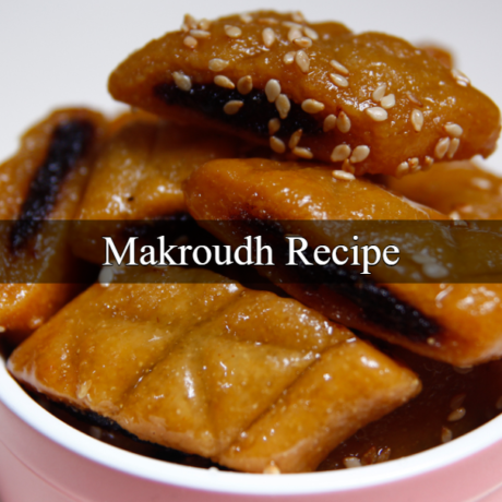 Makroudh Kairouan of the Tunisian Cuisine