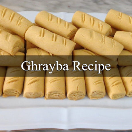Ghrayba Tunisian Homemade Steps For Beginners