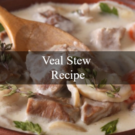 Veal Stew Easy Homemade Steps
